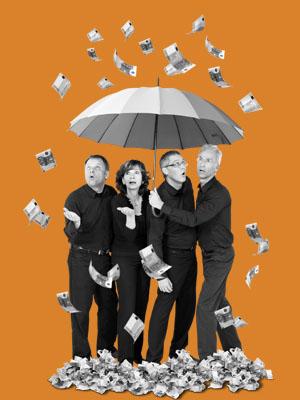 Mit Schirm, Scham & Millionen
